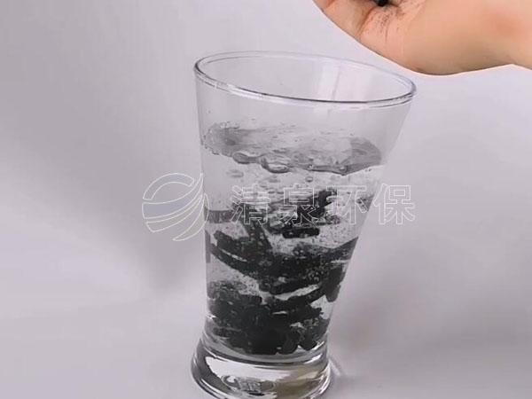 柱状活性炭净水实验