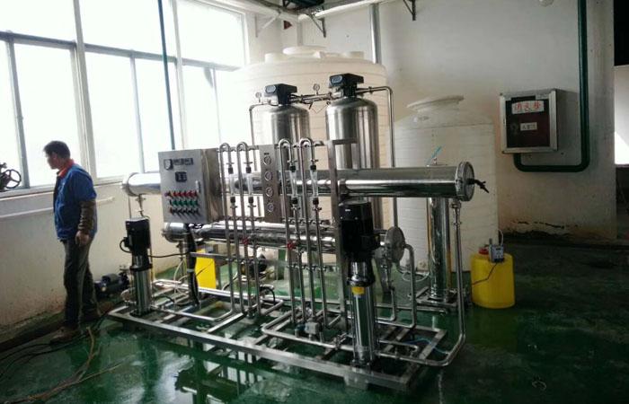 活性炭在反渗透纯水工艺中应用案例